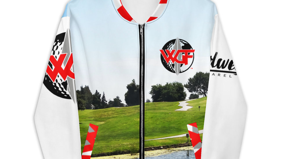 """WGF"" Traps & Hazards Bomber Jacket by Hardwear Apparel"