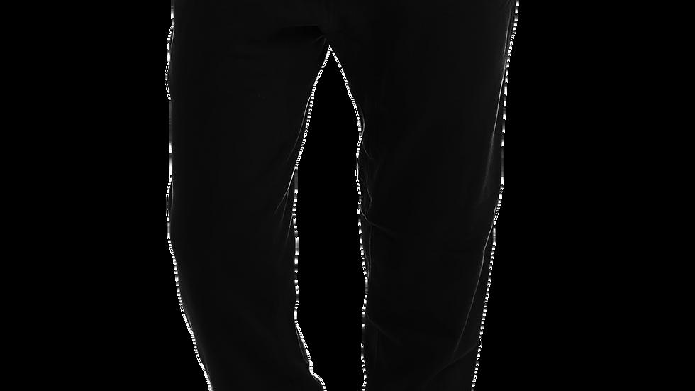 MADE IN DENA Area Code 626 Gold Logo Black Joggers