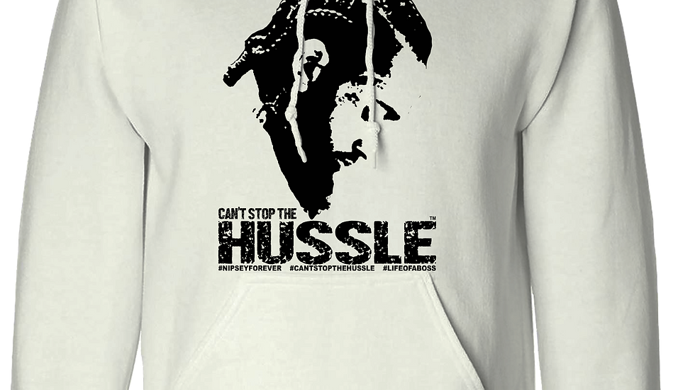 """""""CAN'T STOP THE HUSSLE"""" Nipsey Tribute LifeOfABoss Hoodie"""
