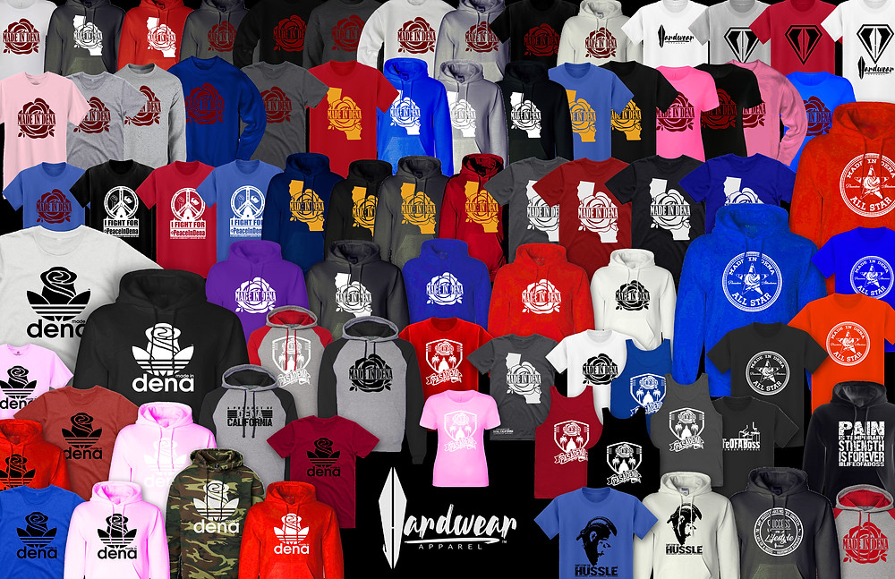 "Hardwear's ""Made In Dena"" T-Shirt expands to apparel empire"