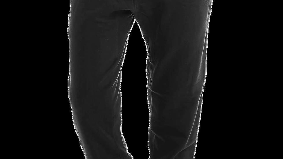 """""""MADE IN DENA"""" Adidas-Inspired White Logo Fleece Joggers"""