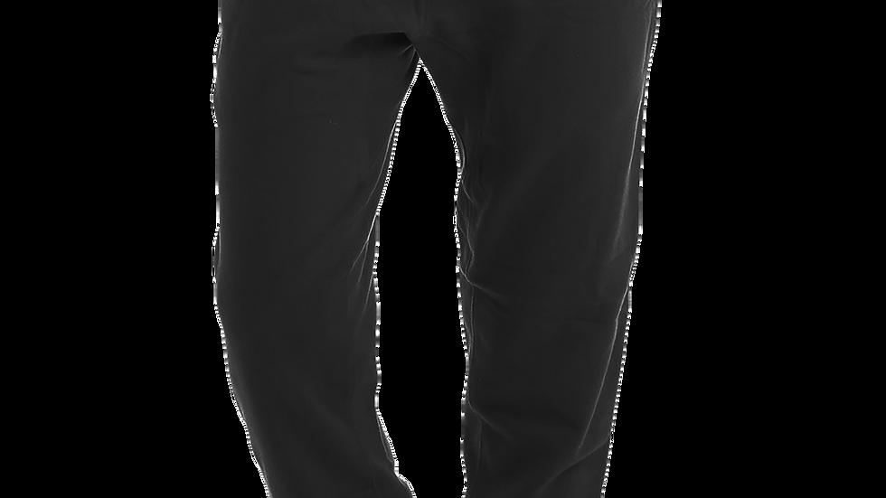 """HARDWEAR APPAREL"" Official White Logo Black Jogger Sweatpants"