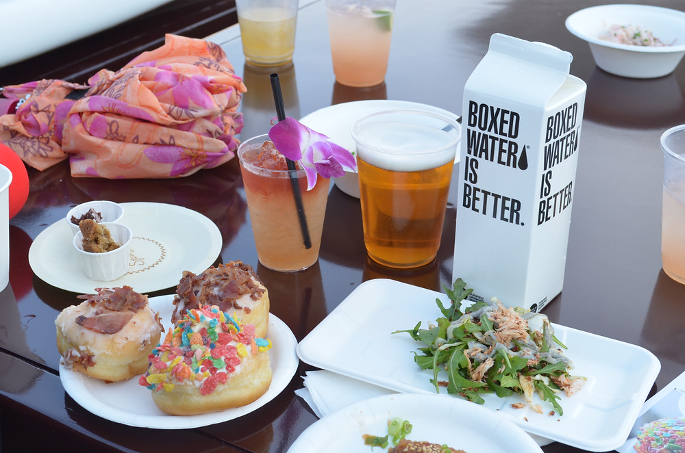 VIP Section at the 2017 Masters of Taste in Rose Bowl Stadium
