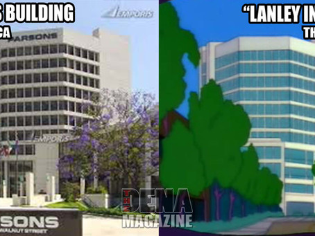 Is The Simpson's Springfield really Pasadena, California?
