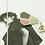 Thumbnail: Swing London撞色 陶瓷擴香石醫療鋼耳飾 的副本