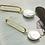 Thumbnail: 簡單美學 手工鑄造鈦耳飾