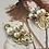 Thumbnail: 編織金工美學 手工鑄造鈦耳飾