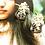 Thumbnail: Belle Époque Era 法式剌繡 銀針耳飾