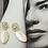 Thumbnail: 珍珠貝工藝美學 手工鑄造鈦耳飾