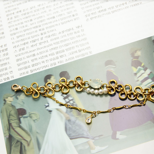 水晶蕾絲手工輕珠寶AG