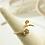 Thumbnail: 飛翔 手工鑄造鈦戒指