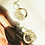 Thumbnail: Baroque Art 月色 手工鑄造銀針耳飾