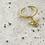 Thumbnail: 祕密花園 手工鑄造黃銅戒指