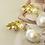 Thumbnail: 秋葉 手工鑄造鈦耳飾