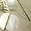 Thumbnail: Modern Art Deco 手工鑄造銀針耳飾