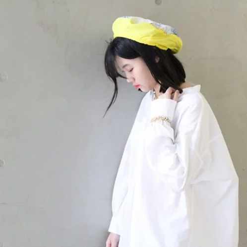 奇幻森林環保染織設計系列- 貝蕾帽/畫家帽AG FASHION