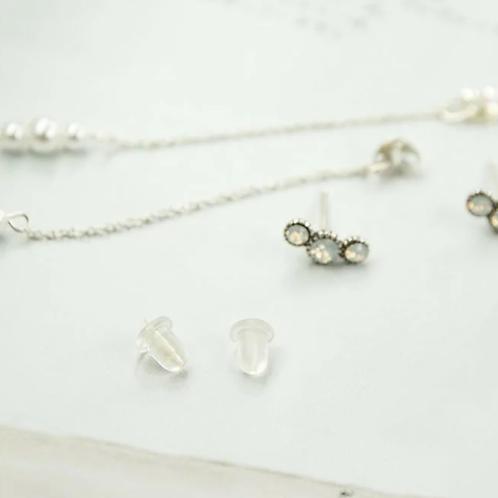 True Love 手工寶石包鑲銀飾
