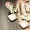 Thumbnail: 大氣 手工鑄造鈦耳飾