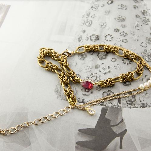 水晶蕾絲手工輕珠寶AGFashion