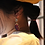 Thumbnail: Belle Époque Era復古美學 手工鑄造鈦耳飾