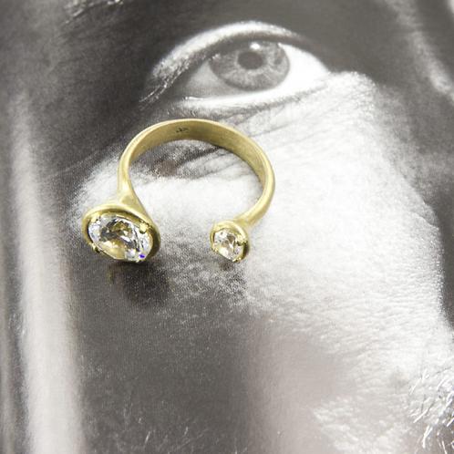 復古奢華 手工鑄造黃銅戒指