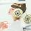 Thumbnail: Swing London花香 陶瓷擴香石醫療鋼耳飾