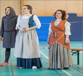 Première répétition en costumes