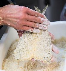 生パン粉を使用しています