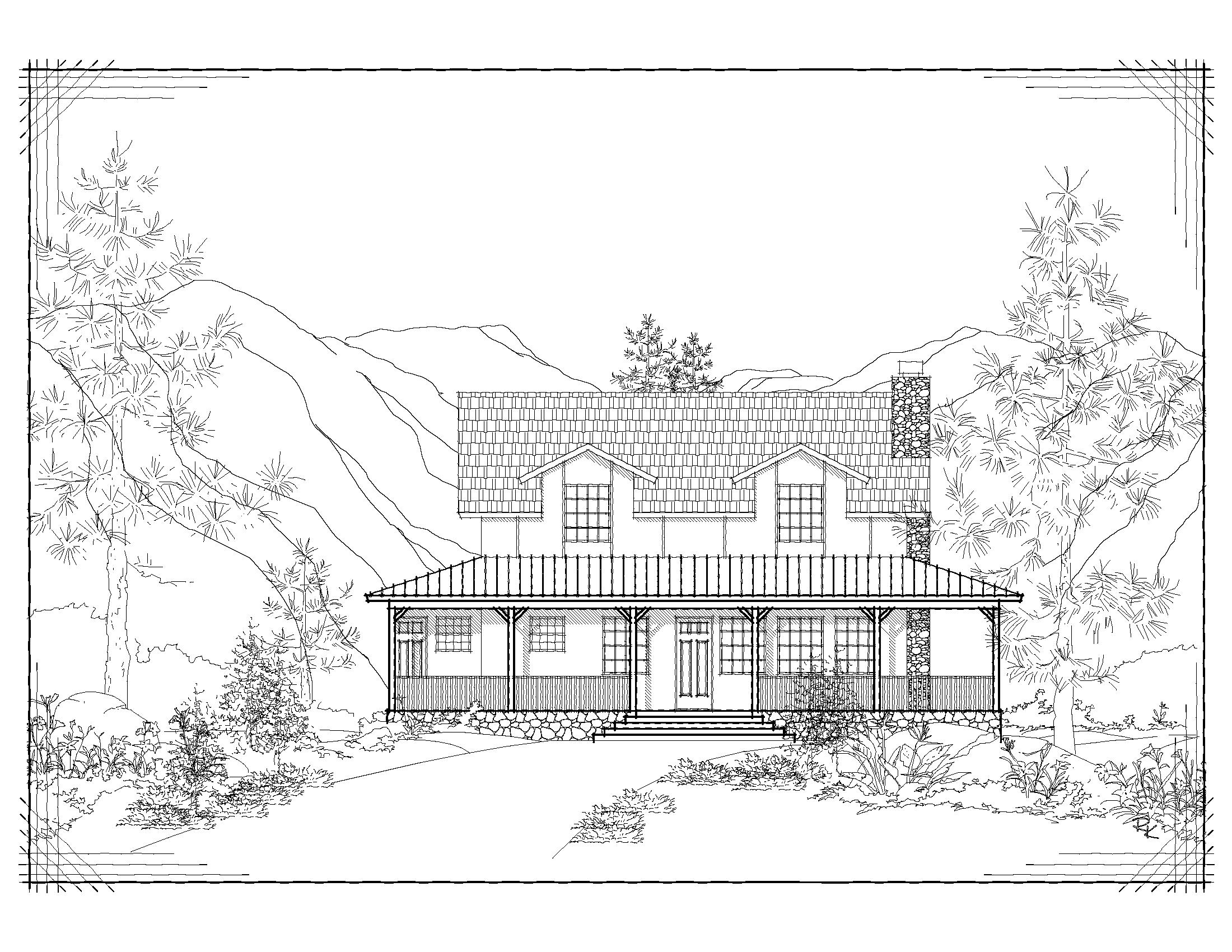 cabin elev