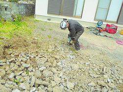 コンクリート掘削