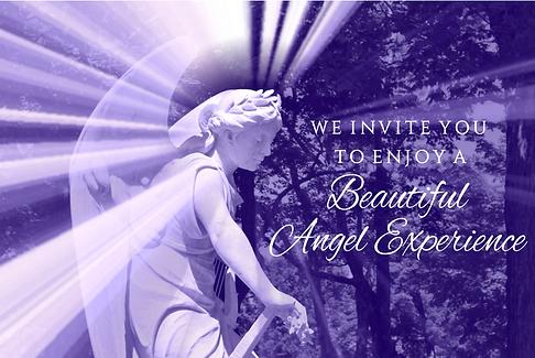enjoy a beautiful angel experience purpl