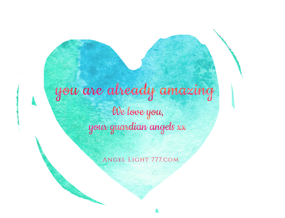 A message from your guardian angels