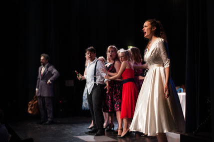 Adéline Le Mer, Soprano - Adina, L'elisir d'amore, Festival Lyrique de Belle-île-en-Mer. Photo: Léonor Matet