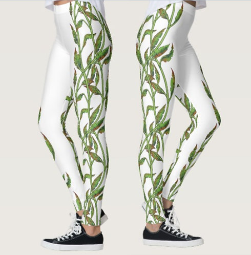 Green Vine Leggings