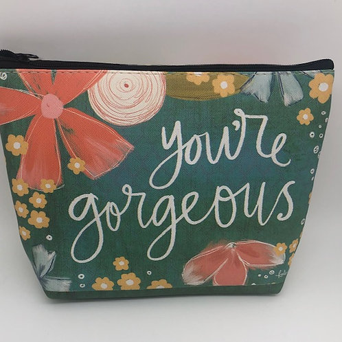 You're Gorgeous Make up bag
