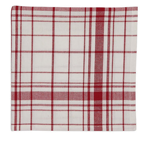 Country Red Cloth Napkin