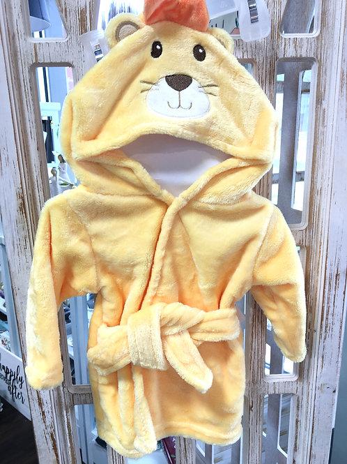 Lion Baby Robe