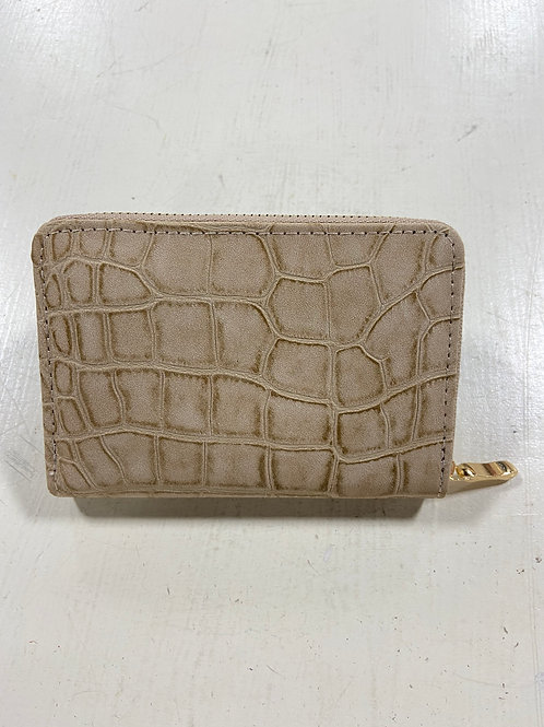 Tan Mini Leather Wallet