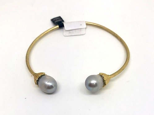 Gray Pearly Bracelet