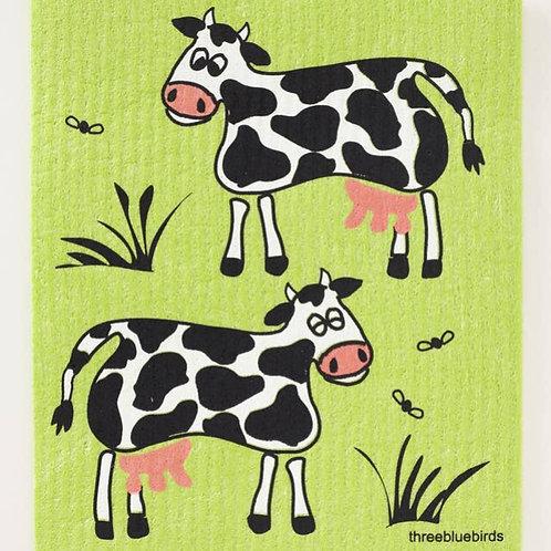 Cows Sweedish Dishcloths