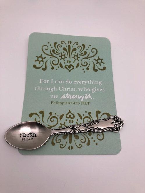 Faith Teaspoon