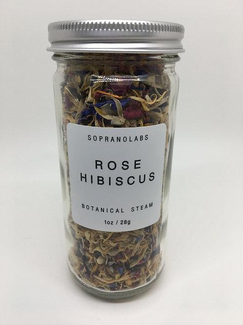 Rose Hibiscus Botanical Steam