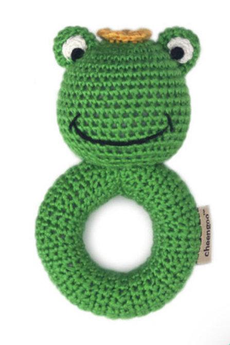 Cheengoo Frog Rattle