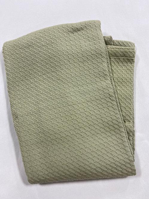 Sage Knit Blanket