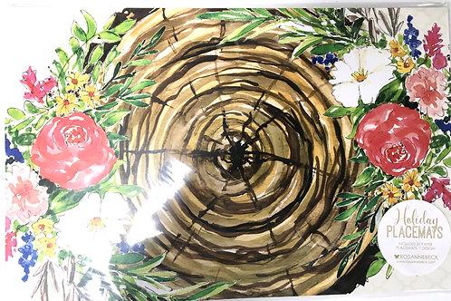 Bird Nest Paper Placemats