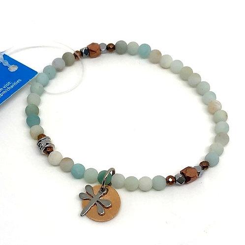 Chavis Green Butterfly Bracelet