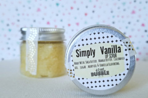 Simply Vanilla Lip Scrub