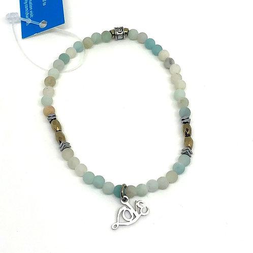 Chavis Aqua Love Bracelet