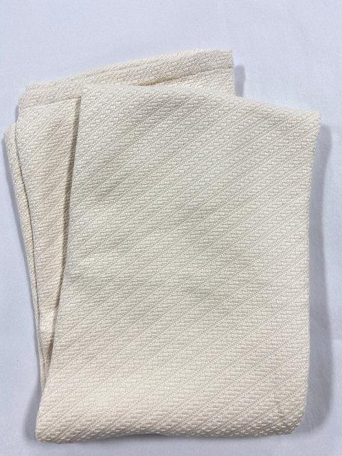 Cream Knit Blanket
