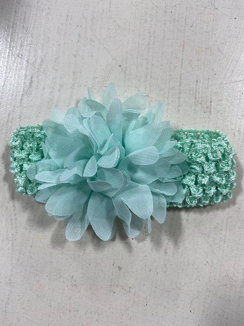Mint Baby Flower Headband